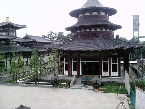 Vùng đất thánh tại chùa Quan Âm