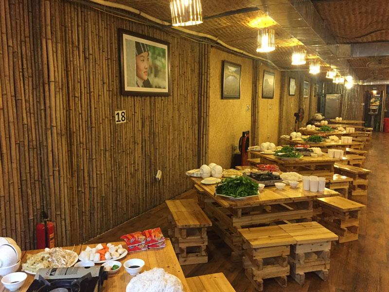Quán ăn ở Sapa