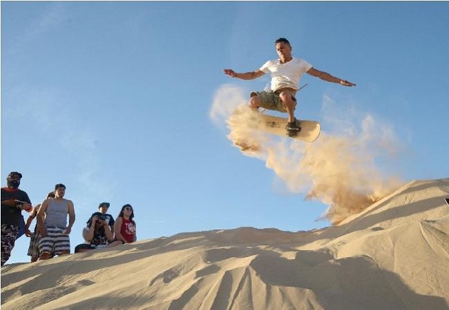 khám phá cồn cát quang phú